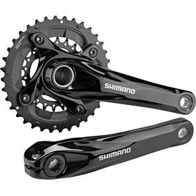 Shimano MTB FC-M627 Crank Set 2x10-speed 38-24 teeth black